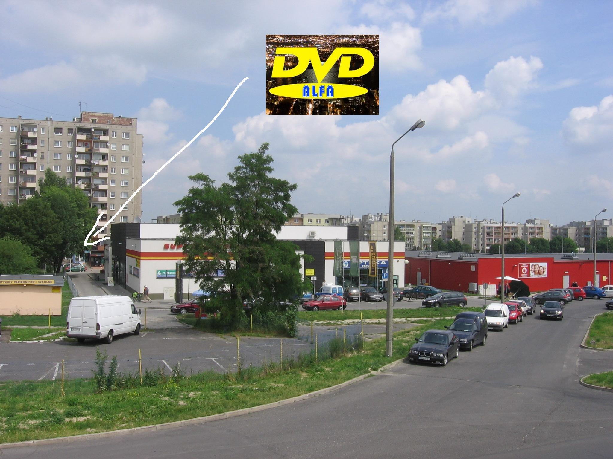 """""""ALFA"""" Wypożyczalnia filmów DVD – Sprzedaż i wymiana gier"""