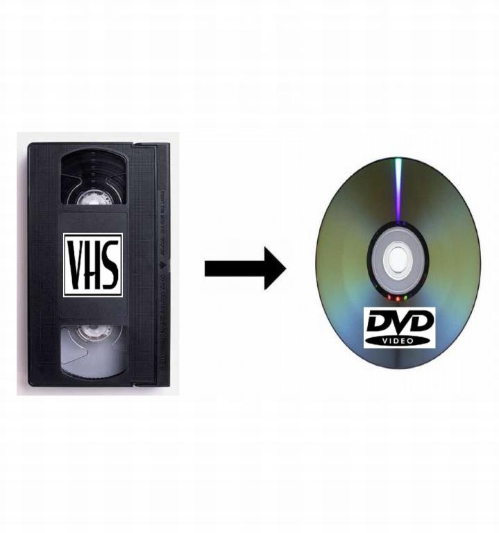 VHS na DVD