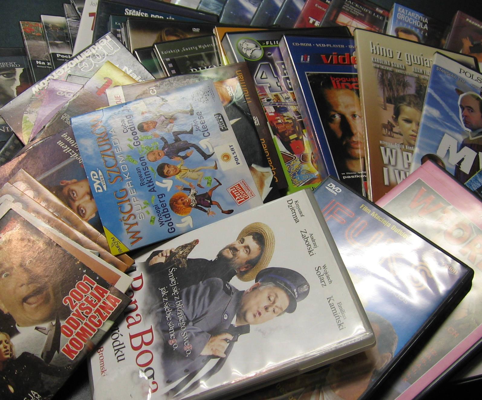 kupię płyty DVD
